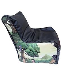 Orka Chhota Bheem Bean Bag Chair Cover Multicolour - XL - 681081