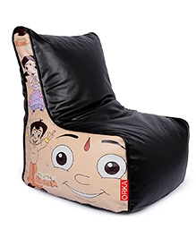Orka Chhota Bheem Bean Bag Chair Cover Multicolour - XL - 681083
