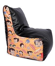 Orka Chhota Bheem Bean Bag Chair Cover Multicolour - XL