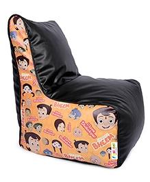 Orka Chhota Bheem Bean Filled Bag Chair Multicolour - XL