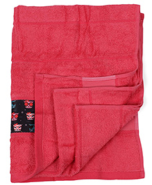 Bath Buddy Baby Towel - Pink