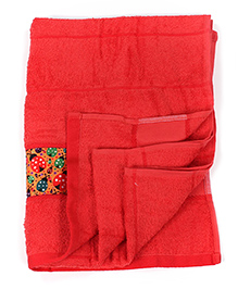Bath Buddy Bath Towel - Tomato Red