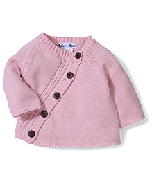 Beba Bean Long Sleeved Cardigan - Pink