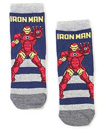 Mustang Iron Man Theme Design - Navy Blue