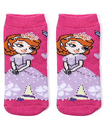 Mustang Socks Princess Design - Pink