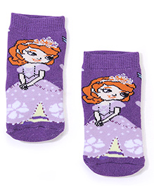Mustang Socks Princess Design - Purple