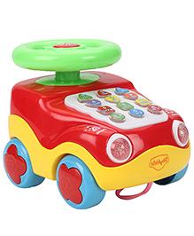 Mitashi SkyKidz Learning Car Musical Toy - Red