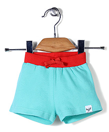 Pinehill Solid Color Shorts - Turquoise