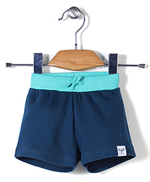 Pinehill Solid Color Shorts - Blue