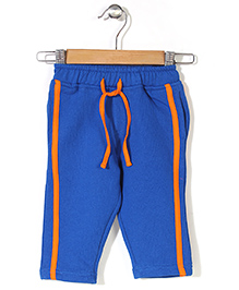 Baby League Track Pant With Drawstring - Blue