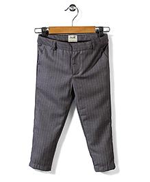 Pinehill Full Length Stripe Trouser - Grey