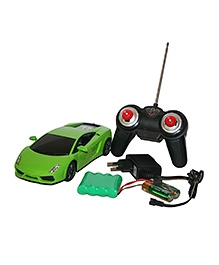 Adraxx Die Cast Metal Remote Control Car - Green