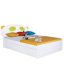 Alex Daisy Queen Size Bed Panda - Yellow & Green