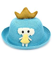 Babyhug Hat Doll Applique - Sky Blue