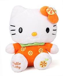 Hello Kitty Sitting Plush Orange - 30 cm
