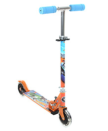 My Baby Excel Hot Wheel Scooter With Lights - Blue And Orange