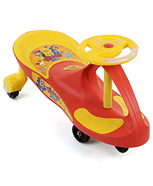 Pokemon Swing Scooter - Red And Yellow