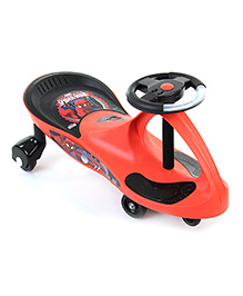 My Baby Excel Spider Man Swing Car - Red And Black
