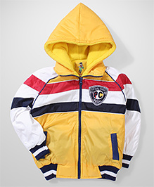 Peridot Hooded Jacket Logo Patch - Yellow Red White