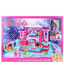 Mega Bloks Barbie Underwater Castle Set