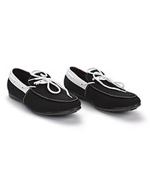 Bash Slip-On Style Loafer Shoes - Black