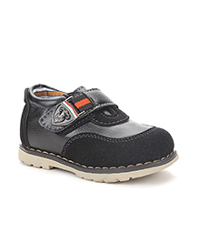 Bash Casual Shoes With Velcro Closure - Black