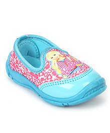 Barbie Casual Shoes Slip On Style - Light Blue