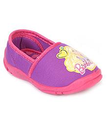 Barbie Slip-On Shoes - Purple Fuchsia