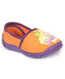 Barbie Slip-On Shoes - Orange Purple