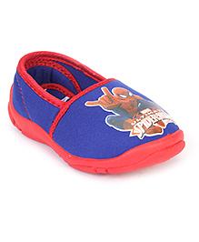 Spider Man Slip-On Shoes - Blue