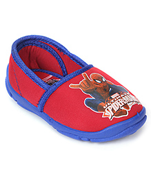 Spider Man Slip-On Shoes - Red Blue