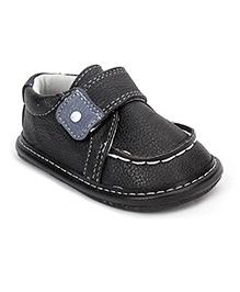 Jack & Lily Velcro Closure Shoes - Black