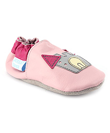 Jack & Lily Baby Shoes - Pink