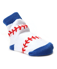 Mud Pie Socks - Blue