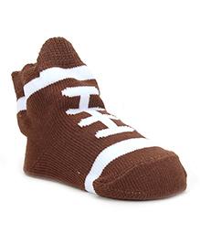 Mud Pie Socks - Brown