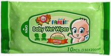 Farlin Baby Wipes Skincare 10 Pieces