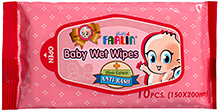Farlin Baby Wet Wipes Anti-Rash 10 Pieces