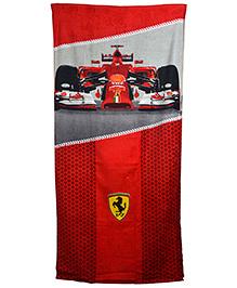 Ferrari Cotton Towel - Red
