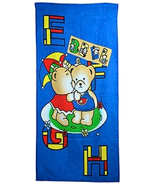 Sassoon Cotton Terry Towel - Blue