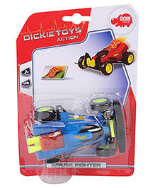 Dickie Manual Spark Fighter Toy - Blue