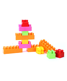 Ecoiffier Abrick Bricks And Stacking Game - 50 Pieces