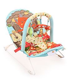 Sunbaby Musical Baby Bouncer - Blue