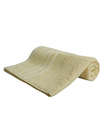 Sassoon Sandy Cotton Bath Towel - Lemon Yellow