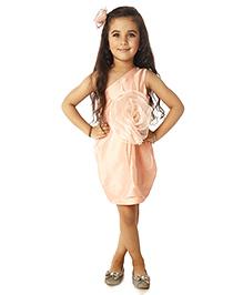 Kidology Party Dress - Peach