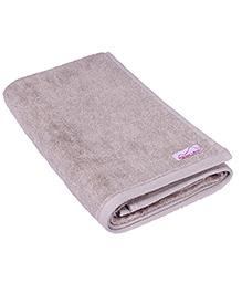 Mumma's Touch Organic Cotton & Bamboo Kids Bath Towel – Beige