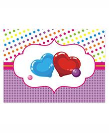 Prettyurparty Candy Shoppe Table Mats- Multi Color