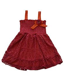 Tiny Closet Cover Up Dress - Maroon