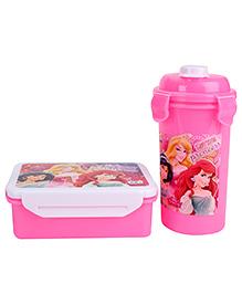 Disney Princess Lunch Box Set - Pink