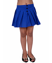 Kidzblush Box Pleated Skirt - Blue