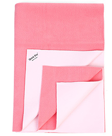 Quick Dry Bed Protector - Light Pink